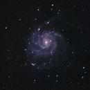 M101 : The Pinwheel Galaxy - Galaxie du Moulinet (NGC 5457),                                Jérémie