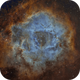 Rosette nebula NGC 2237 and cluster NGC 2244 in SHO,                                  Jean-François Dou...