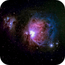 Orion Nebula in LRGB,                                Mike