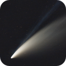 C/2020 F3 (NEOWISE) at it's peak,                                Szeleczki Gabor
