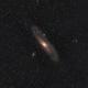 M31 Samyang 135 f 2.8,                                Elmiko