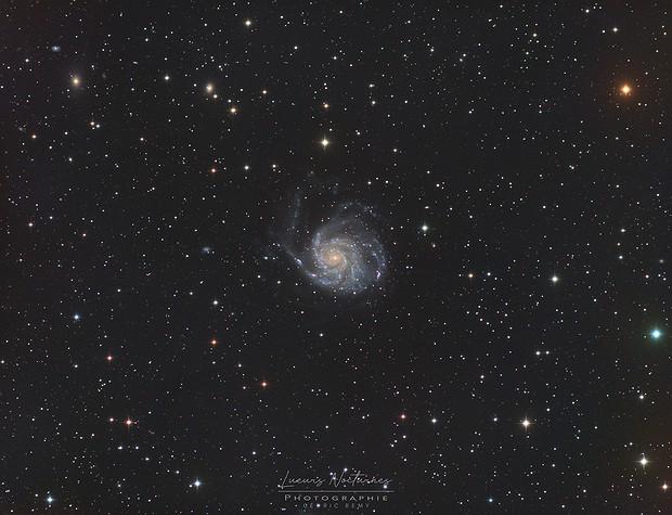 M101 Galaxie du Moulinet LRVB,                                Cedric