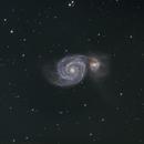 Messier 51 LRGB Whirlpool Galaxy,                                Themis Karteris