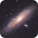 Messier 31, the Andromeda Galaxy,                                Chris Lasley
