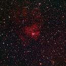 Sharpless2 206 ICC 433 in H-alpha with RGB (AKA Jellyfish Nebula),                                jerryyyyy