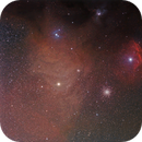 Antares and colorful clouds,                                J_Pelaez_aab