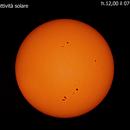 ripresa attività solare  oggi 07 settembre 2021 alle ore 12 ,00 minuti,                                Carlo Colombo