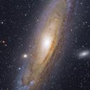 Messier 31, NGC 224 - Great Andromeda Galaxy,                                Ou Mingzhi