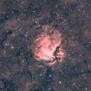 Sharpless 112 (SH2-112) in Cygnus in HOO narrowband,                                Michele Vonci