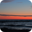 Jupiter and Venus conjunction - Baltic seaside - 30.06.2015,                                Łukasz Sujka