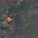 Cygnus Wide Field, NGC700 - DSLR 50mm f1.8 - Red Zone,                                  Jer Hetrick