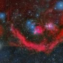 Orion Mosaic, L, Ha, RGB,                                  Jeff Hall