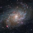 M33 - Triangulum,                                Andrew Marjama