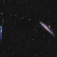 "NGC 4631 (""Whale"") & NGC 4656 galaxies,                                  Jean-Baptiste Auroux"