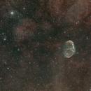 NGC 6888 - C11 - HyperStar V3 - Asi 071 - L eNhance filter - 40 X 300'',                                Alain-Bouchez