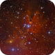 Cone Nebula and Christmas Tree Cluster NGC2264,                                Serge