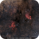 Cat's Paw and Lobster Nebulae,                    Gabriel R. Santos...