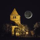 Crescent Moon - March 10, 2016,                                Sebastian Voltmer
