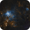 Tarantula Nebula - Cropped,                                George Varouhakis