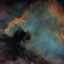 NGC 7000 - Starless,                                Rich Sky
