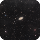 M64 Blackey Galaxy and cirrus,                                Andreas Zirke