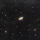 M64 Blackey Galaxy and cirrus,                                Andreas Zirke