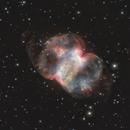 M76 Nebula, a NOT RVB-Ha in Red CH image,                                Niels V. Christensen