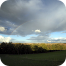 Rainbow over Volvestre,                                Jean-Marie MESSINA