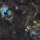 NGC7000 & IC1318,                                ZlochTeamAstro