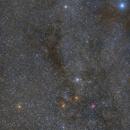 M35, M37, NGC 2174 (Monkey Head Nebula) and IC 443 (Jellyfish Nebula) new version,                                AstroHannes68