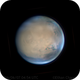 Mars - First Light with ASI290MM,                                Chappel Astro