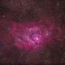 M8 - The Lagoon Nebula,                                Dennis Bucklin