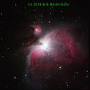 M 42 - Orion Nebula,                                  erikwest