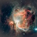 Orion Nebula (M42 & M43) - a quick test,                                  Gary Lopez