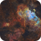 The Eagle Nebula (M16) imaged in SHO,                                Andrew Klinger
