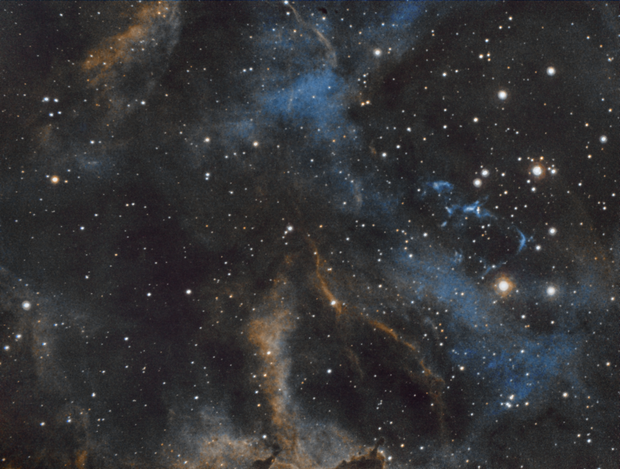 """Melotte 15 in The Heart Nebula - """"The Serpents Sail"""",                                Ara"""