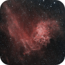 The Flaming Star Nebula (IC 405) in HSS,                                Chuck's Astrophotography
