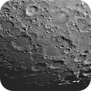 Clavius region, 8-panel mosaic, Wratten #56 filter,                                turfpit
