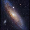 Andromeda Galaxy,                                Yokoyama kasuak