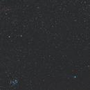 C/2014 Q2 Lovejoy with M45 Pleiades and NGC1499 California Nebula,                                Konstantin Katushev