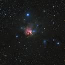 NGC1579 North trifid H-alpha_LRGB,                                MassimoTuninetti