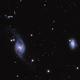 NGC 3718 and 3729,                                Andrew Gutierrez