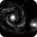 M51 - a whirlpool or two,                                Tom Gray