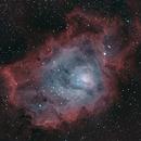 M8 Lagoon Nebula HOO,                                buckahh