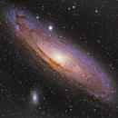 M31 Andromeda Galaxy,                                Dani Berkvens