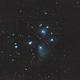 M45 Pleiades old data 2017-10-26 / Canon 100Dn + Canon 400mm L USM F/5.6 / Star adventurer / SIRIL 0.9.11,                                patrick cartou