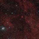 Van den Bergh 133 and Sharpless 2-106 in Cygnus - HaLRGB,                                Steve Milne