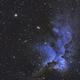 Wizard Nebula (NGC 7380) in SHO,                                Ara Jerahian