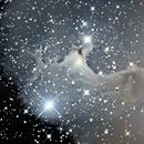 The Ghost  Nebula - Sh 2-136,                                dts350z