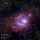 M8 Lagoon Nebula,                                Robert Van Vugt
